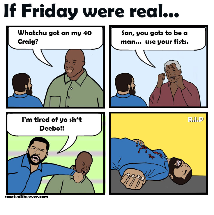 If Friday were real…