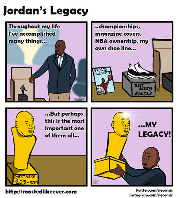 MJ's crowning achievement