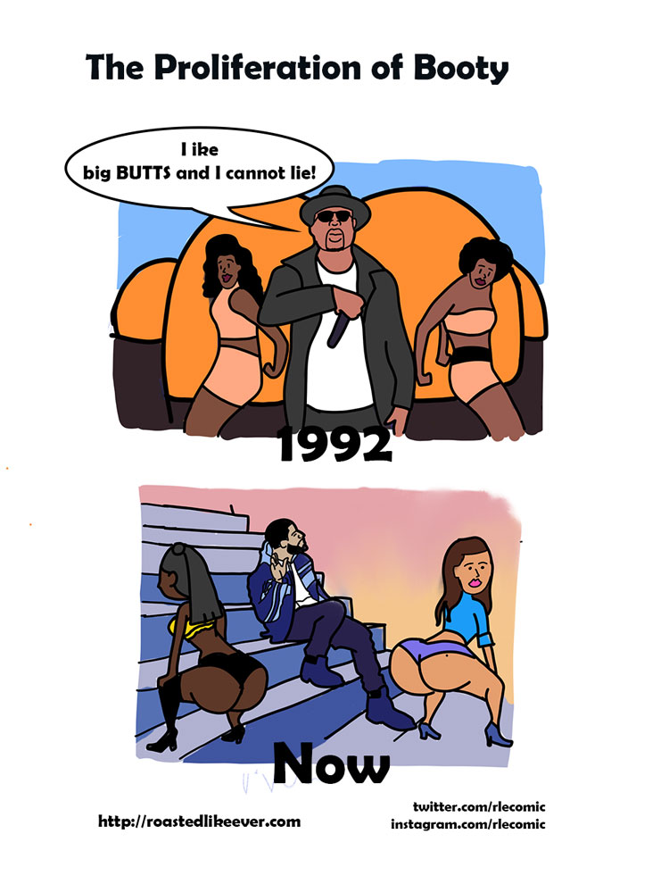 The proliferation of booty
