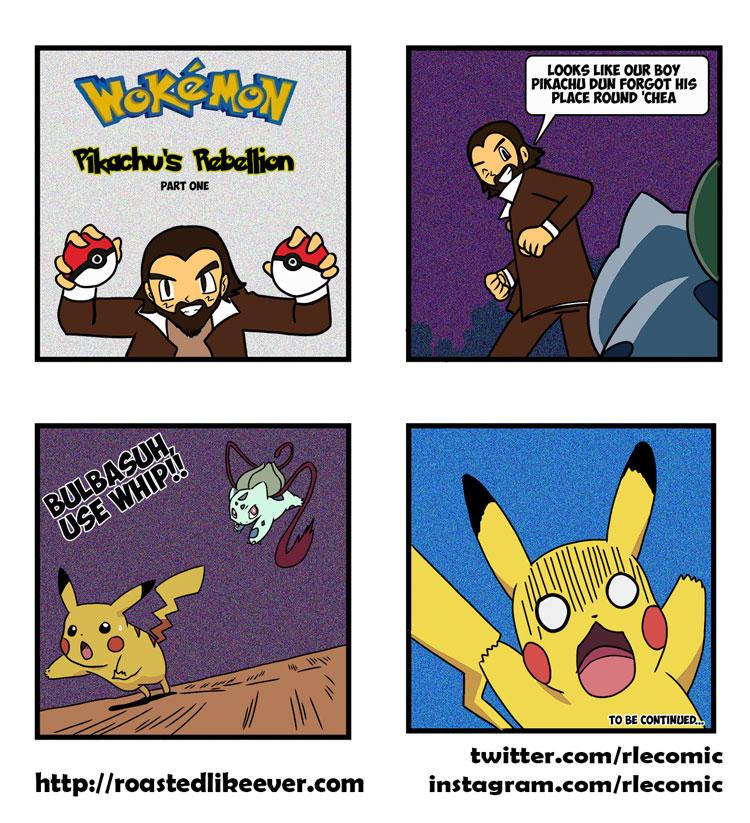 Pikachu's Rebellion (part one)