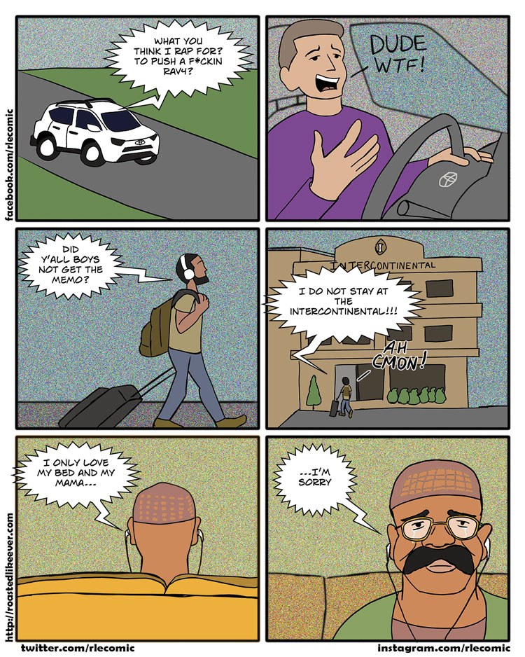 Being a rap fan is hard