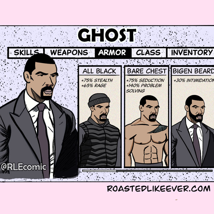 Choose Your Ghost Armor