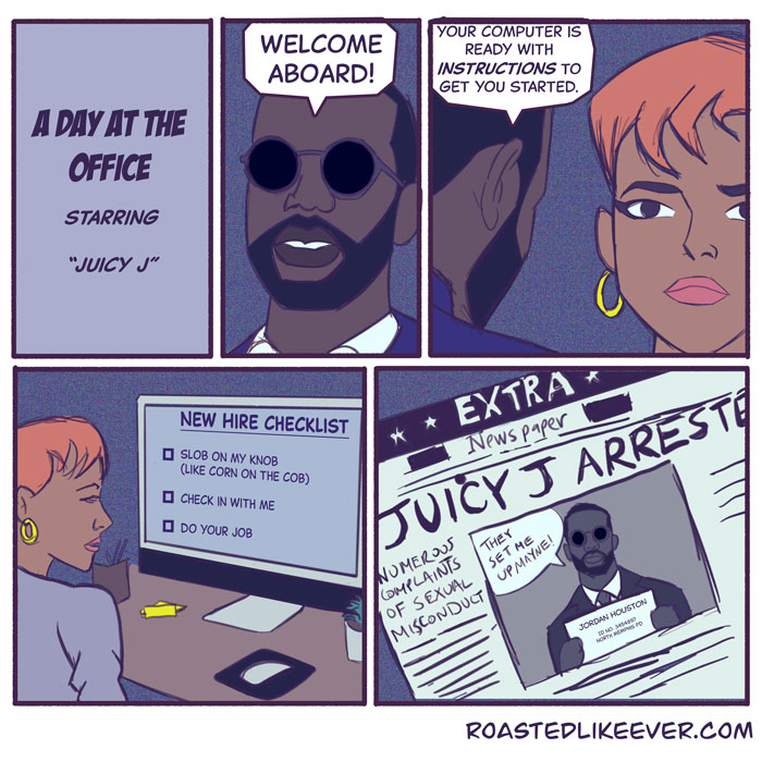 Juicy J – Office Manager