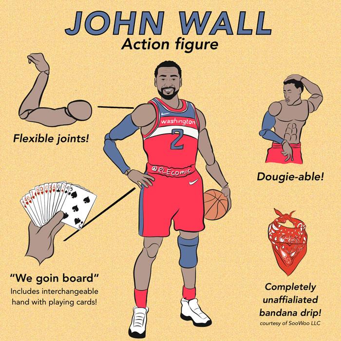 John Wall Action Figure