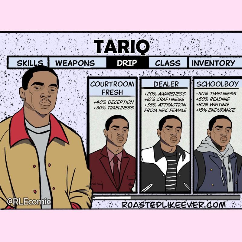 Choose your Tariq